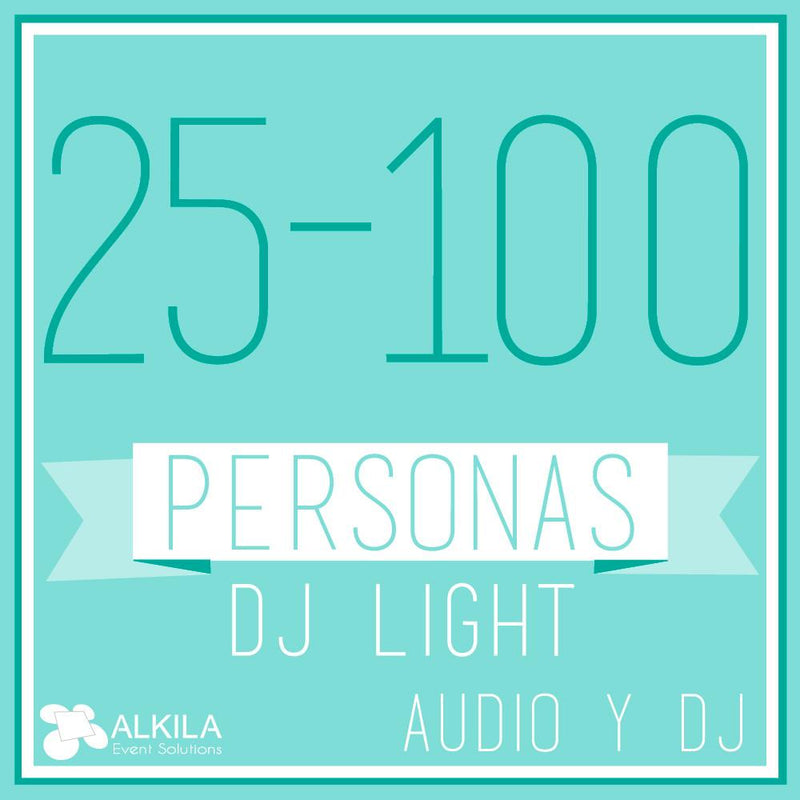 DJ LIGHT (25 a 100 Personas)