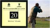 20 Gauge Competition Loads Holland & Holland Royal Game