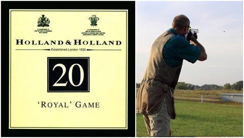 20 Gauge Shotshells Holland & Holland Royal Game