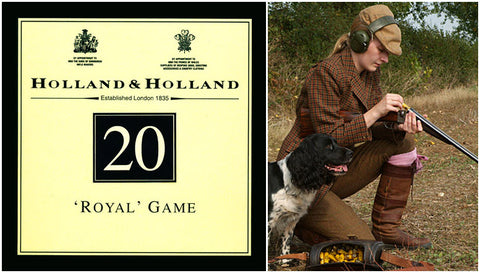 20 Gauge Traditional 2-1/2 inch 7/8-oz Holland & Holland Shotshells