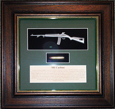Cartridge Display Board Caliber .30 M1 Carbine