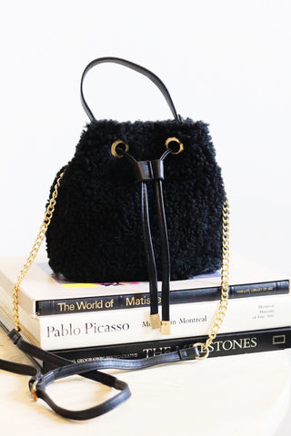 all the feels bucket bag