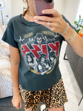 kiss world tour reverse girlfriend tee