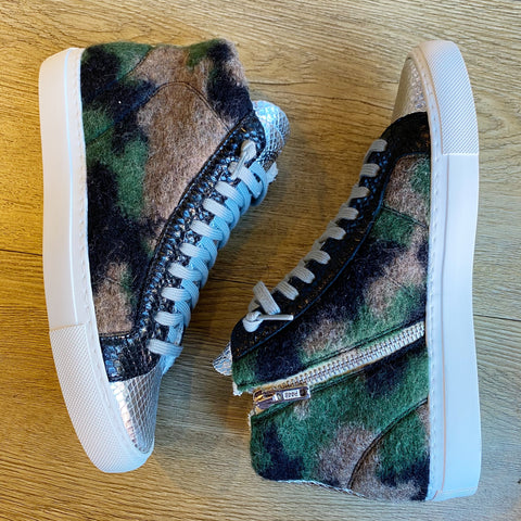 star felt camo hi top