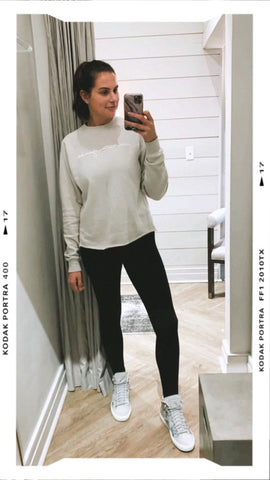 MJ Basic sweatshirt sand