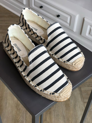 Classic Stripe Smoking Slipper