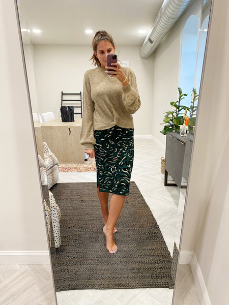 sasha sweater skirt