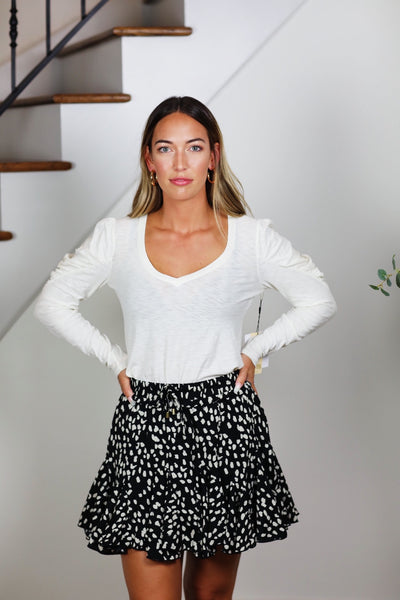 the dotty skort