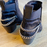 shelah booties black
