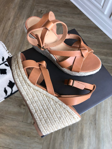 Charlotte Wedge Leather