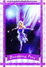 "Breaking Free: ""Do you feel trapped in some life area? This card asks you to take the first step in freeing yourself from any unnatural restrictions."""