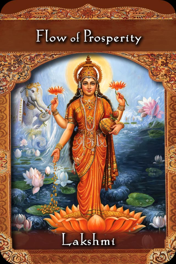 Lakshmi ~ Flow Of Prosperity