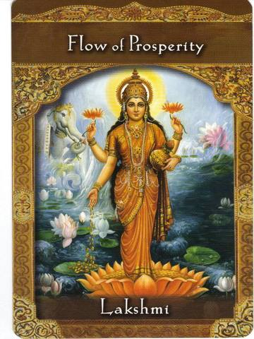 Enjoy the Flow Of Prosperity coming your way!