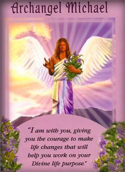 I am with you, giving you the courage to make life changes that will help you work on your Divine Life purpose.