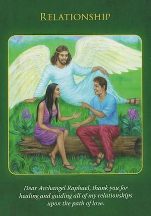 Dear Archangel Raphael, thank you for healing and guiding all of my relationships upon the path of love.