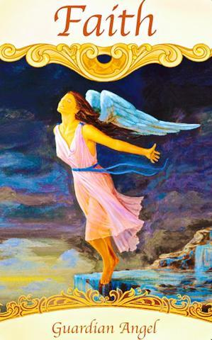 "Guardian Angel ~ Faith: ""Think of all the miracles you have experienced in your life so far."