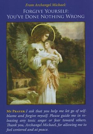 Archangel Michael: Forgive Yourself.