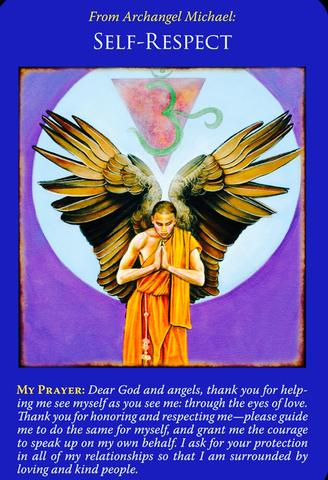 From Archangel Michael ~Self-Respect~ – Angelic Healing By