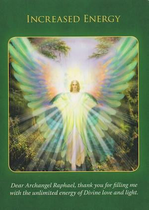 Archangel Raphael: Increased Energy