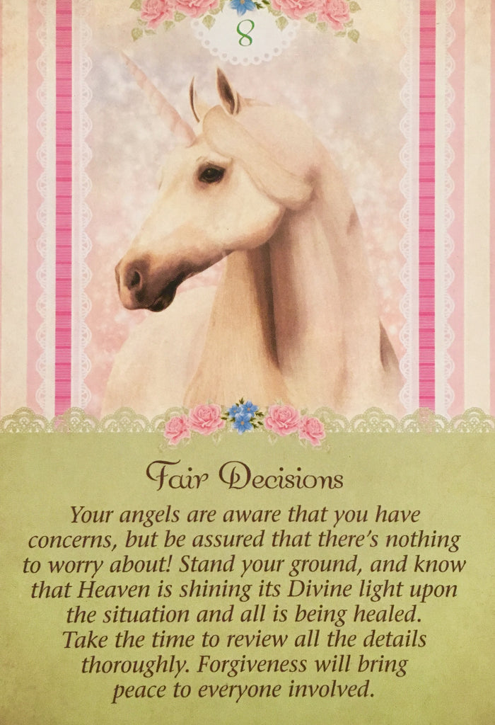 "Fair Decisions: ""Your angels are aware that you have concerns, but be assured that there is nothing to worry about!"