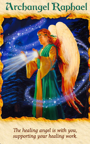 Archangel Raphael is with you, supporting your healing work.