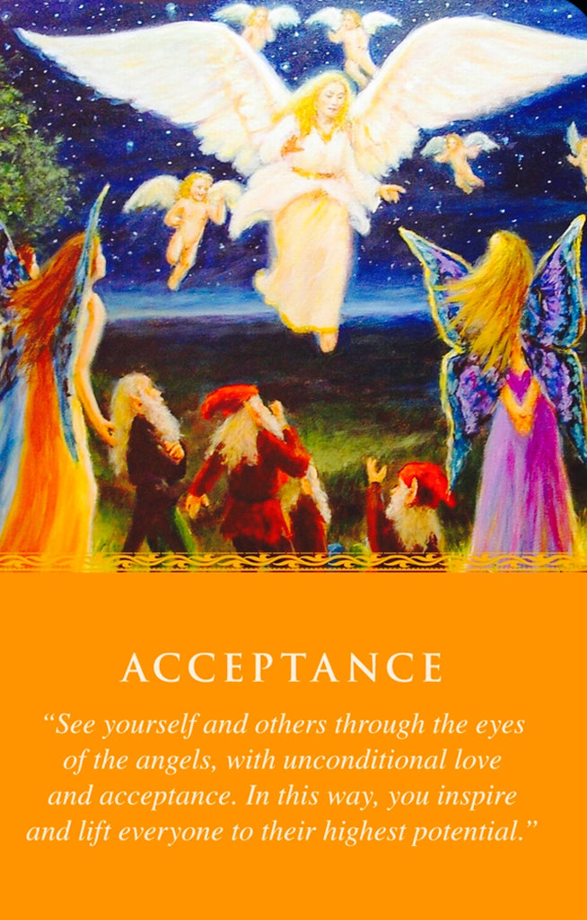 """See yourself and others through the eyes of the Angels, with unconditional love and acceptance. In this way, you inspire and lift everyone to their highest potential."""
