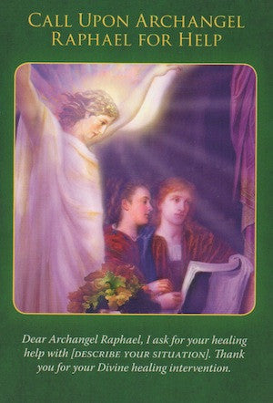 Call upon Archangel Raphael for help!