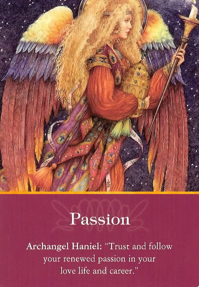 "Archangel Haniel: ""Trust and follow your renewed passion in your love life and career"""