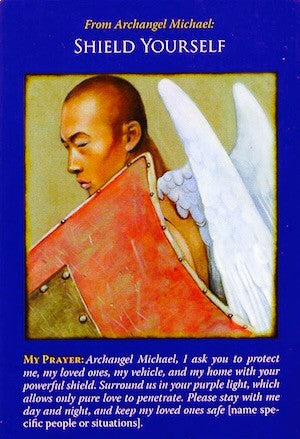 Message from Archangel Michael: Shield Yourself.