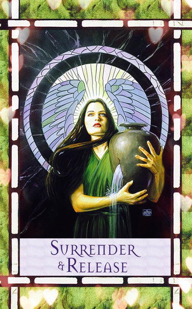 Surrender and Release - Let.  go, and allow God and the angels to help you.