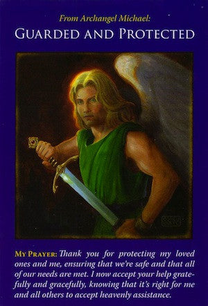 Archangel Michael: Guarded and Protected.