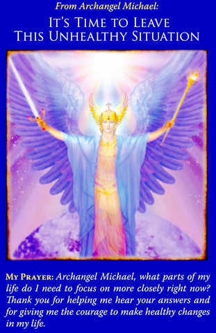 Message from Archangel Michael: It's time to leave this unhealthy situation.