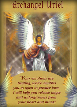 Your emotions are healing, which enables you to open up to greater love. Archangel Uriel will help you release anger and unforgiveness from your heart and mind.