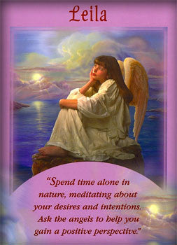 Spend time alone in nature, meditating about your desires and intentions. Ask the angels to help you gain a positive perspective.