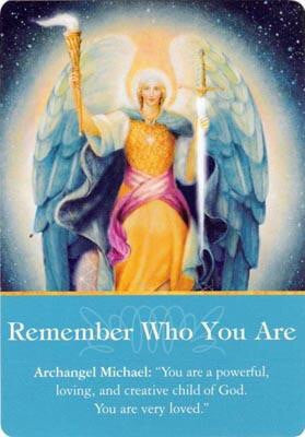 "Archangel Michael: ""You are a powerful, loving, and creative child of God. You are very loved."""