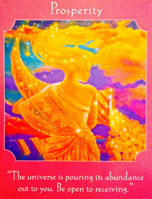 "Abundantia ~ Prosperity: ""The Universe is pouring its abundance out to you. Be open to receiving."