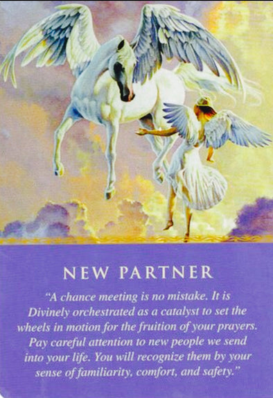 Message from the Angels: New Partner