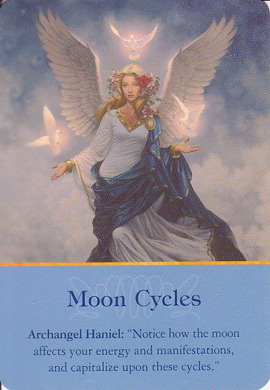 """Notice how the moon affects your energy and manifestations, and capitalize upon these cycles."""