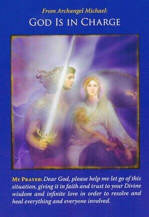 Prayer: Dear God, please help me let go of this situation, giving it in faith and trust to your Divine wisdom and infinite love in order to resolve and heal everything and everyone involved.
