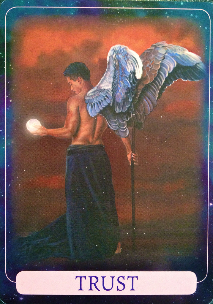 "Trust: ""This card asks you to trust that there is a purpose to life."