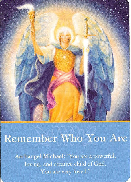 "Archangel Michael: ""You are a powerful, loving, and creative child of God. You are very loved!"