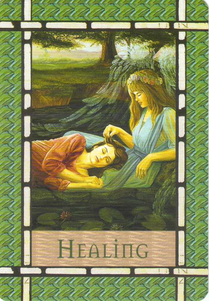 A situation that has been causing us concern is on the mend. We are natural healers, and our healing thoughts have manifested into form.
