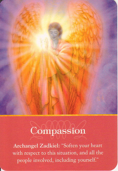 Archangel Zadkiel: Soften your heart with respect to this situation, and all the people involved, including yourself.