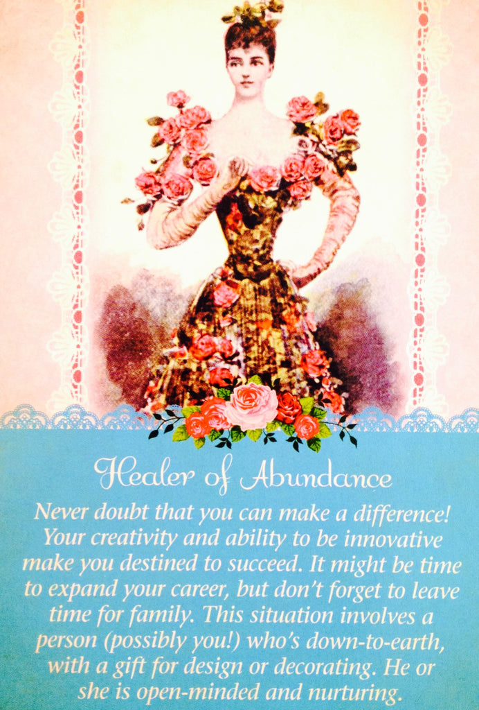 "Healer Of Abundance: ""Never doubt that you can make a difference! Your creativity and ability to be innovative make you destined to succeed."