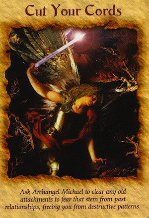 Ask Archangel Michael to clear any old attachments to fear that stem form past relationships, freeing you from destructive patterns.
