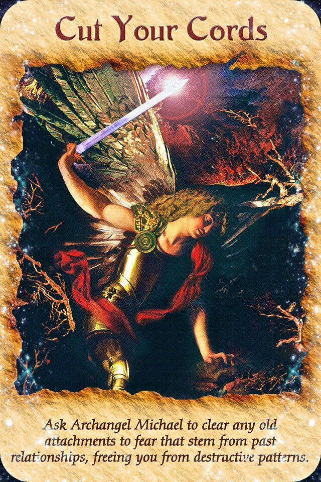 Ask Archangel Michael to clear any old attachments to fear that stem from past relationships, freeing you from destructive patterns.