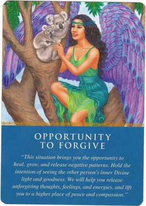 Opportunity to Forgive.