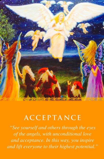 See yourself and others through the eyes of the angels, with unconditional love and acceptance.