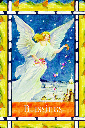 "Blessings: ""God and the angels are helping you right now. Continue to ask for their help, and then accept it when it comes (And it always does)."