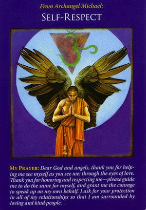 Archangel Michael is supporting your quest for happiness, health